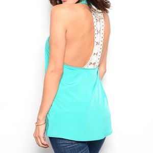 Tops - Teal Sleeveless Top